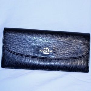 Coach Navy Wallet